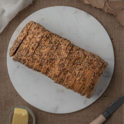 Low Carb Food Co Bread Seeded Sliced Loaf 700g