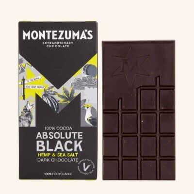 Montezuma's Absolute Black Hemp & Sea Salt