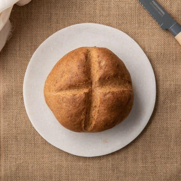 Low-Carb Bread Plain Cob 400g